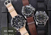 MiLTAT Senno G10 LEATHER COLLECTION / MiLTAT Senno G10 Leather Collection was made from imported Italian vegetable tanned leather. Approximate 1.5mm thick, tight up with three rings and solid buckle. Hardwares all in 316L stainless steel. This magnificent design is ideal for smart casual outfit.