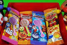 アンパンマンストップモーション ペロペロチョコ&キャンディ❤アニメ&おもちゃ Anpanman toys