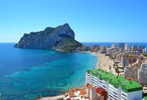 Calpe - Costa Blanca (Spain) / Calpe a beautiful city on the White Coast (Costa Blanca) in the south-east of Spain.