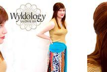 Wyldology Salon / http://wyldology.com/ / by Richmond Bridal