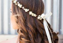 Blumenkränzchen/Frisuern