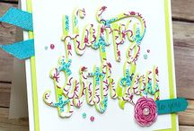 Happy Birthday Gorgeous / Stampin' Up! Happy Birthday Gorgeous Stamp Set and Happy Birthday Thinlits Die