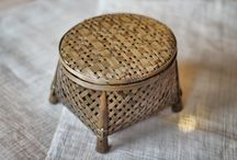 Bamboo baskets / Simple, elegant baskets from the Charcoal People for storing items around the house.