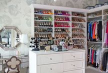 Closets and Dressing Rooms / by New England Fine Living
