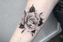 tátoos rosas