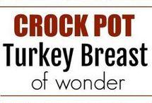 Turkey breast crock pot