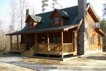 Log Home / by Brandy LaBrosse