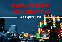 Terrific Traffic Generation Tips / The best resources to help you learn how to increase website traffic, get more visitors, increase your pageviews and more.