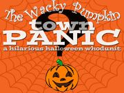 The Wacky Pumpkin Town Panic - a Fun Halloween Whodunit - Mystery Party (non-murder) / A fun family Halloween Mystery Party (non-murder) for all ages, any groups! Ideal for families, church groups, youth groups, classrooms, or anyone who wants good clean fun on Halloween! You can expand the main game to 20+ characters and there is an expansion pack available (5M,5F) to expand to 40+ characters by playing certain characters as teams.