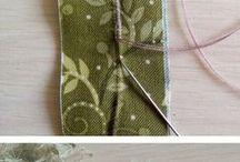 DIY med tyg & garn / sy, sticka eller virka