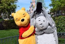 personnages dans Disneyland Paris