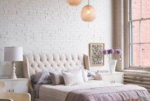 Peaceful bedrooms
