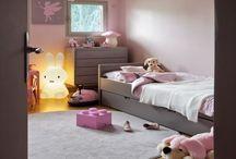 Chambre enfants / Idée de couleurs / agencement chambre enfants