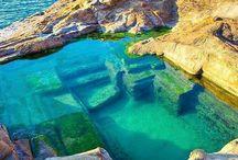 Deniz doğa manzara