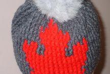Crochet Canada's Celebration Hat