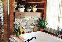 Log home decorating / by Betsey Krohn