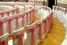 Pink Bows - Chair Covers