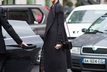 Women's fashion Models off duty...! / Street style and classic flawless fashion