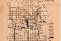 Vintage Milwaukee Maps