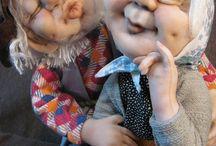 sculture in stoffa scolpite ad ago