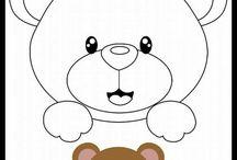 Carinha de urso