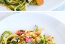 Zucchini pasta recipes