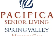 Pacifica Senior Living Spring Valley / Pacifica Senior Living Spring Valley offers a full spectrum lifestyle services. We believe retirement living should be like a never-ending vacation - relaxing, carefree and filled with the things you love to do. Part of that retirement lifestyle is the warmth and comfort that comes from living in a senior community where treating residents with respect and dignity is a top priority.