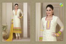 Designer Bollywood Salwar Kameez Online / Buy Online latest and exclusive collection of Designer Bollywood Salwar Kameez, Anarkali Suits, party wear Suits, Printed Suits in India.