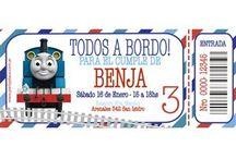 Cumpleaños tren