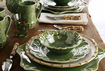 Посуда и столовые приборы - / Dishes and Cutlery
