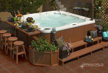 Dreaming of terrace spa pool