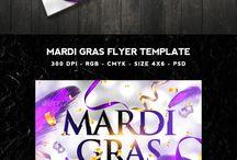 Mardi Gras Design Inspiration / Mardi Gras Templates & Design Inspiration