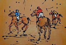 chevaux a l encre