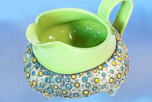The Kristy Lombard Collection / A sampling of artisan-made stoneware by designer Kristy Lombard. To find out more and to purchase items from her collection, visit: http://cookingupastory.com/product-category/kristy-lombard-collection
