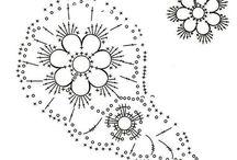 9 Crochet  diagrams (Jeanette)