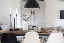 Dining / dining tables and chairs. deco