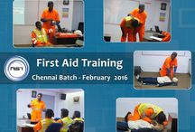 Practical Safety Training / We offer practical safety training like First Aid, Confined Space Attendant, Fire Watcher Training.  www.nistinstitute.com