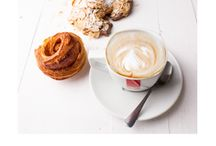 Breakfast campaign / From 23 July - 20 August 2014. R10 for any hot drink along with a morning bun, croissant, danish, avo toast.