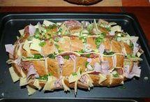 Gefülltes Brot mit allerei