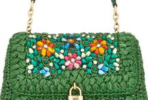 beautiful green d&g bad with stones