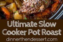 Crock pot dinners