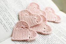 Hearts / Not only crochet hearts