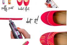 DIY - Cipő, táska