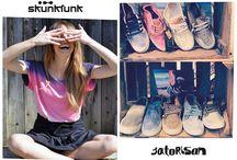 Skunkfunk & Satorisan Junio 2015 / Dos de las #firmas de #moda más urbanitas en esta #popupstore tan veraniega