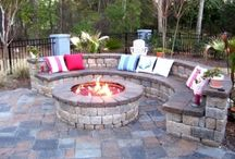 Outdoor fire pits / by Tammy Michalec