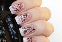 Winter/Xmas nails