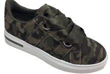 Camo Sneakers voor Dames