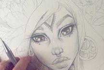 Inspirerande teckningar