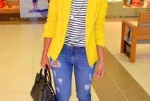 Yellow Blazer Inspo