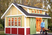 Garden sheds and buildings / Garden buildings
